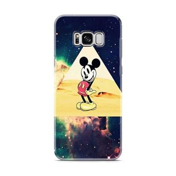 disney Mickey mouse Hipster Triangle Galaxy Samsung Galaxy S8 | Galaxy S8 Plus Case