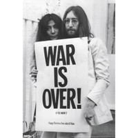 Walmart: John Lennon - War Is Over Poster Print (24 x 36)