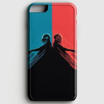 Daft Punk Red And Blue iPhone 8 Case