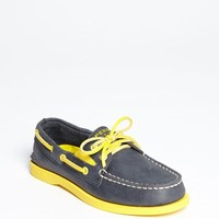 Kid's Sperry Top-Sider Kids 'Authentic Original' Boat Shoe, Size 6 M - Blue