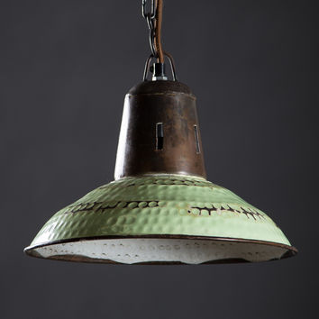 Goshen Hanging Lamp - Vintage Green