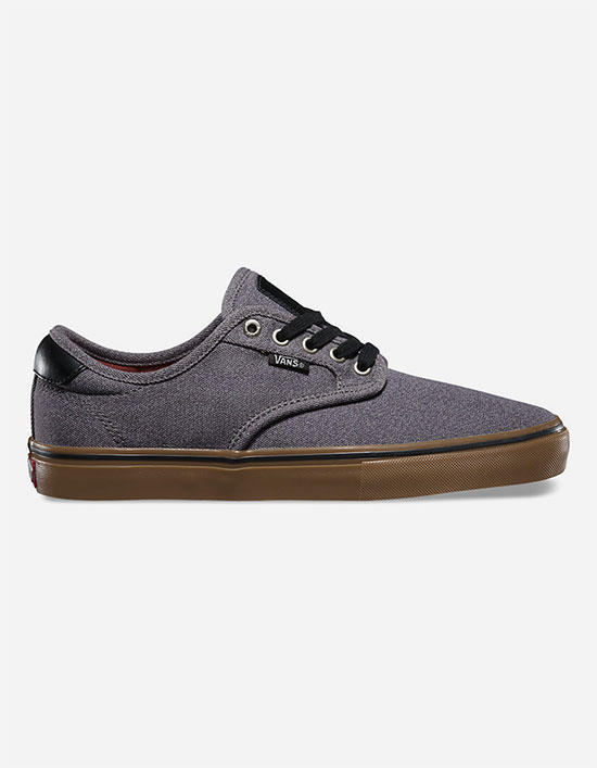 c064b456bf43 Vans Chima Ferguson Pro Mens Shoes Covert Twill Pewter Gum In Sizes