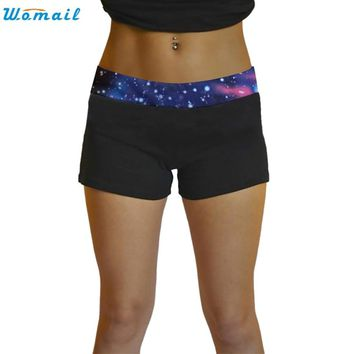 Premium 6 Colors Woman Girls Jogging Yoga Running Shorts Gifts Summer Women Sports Shorts Gym Workout Waistband Yoga Short Pants