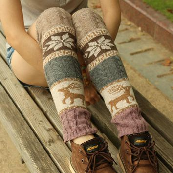 Winter Twisted Korean Socks [107233673241]