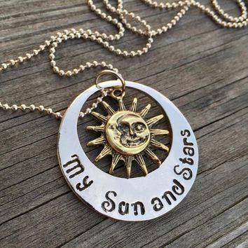 Game of Thrones Moon of My Life My Sun and Stars Pendant Necklace Women Lady Necklaces