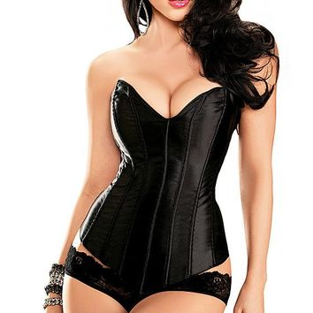 Corset - Tesa Satin Strapless Sweetheart (Sizes 32-38)