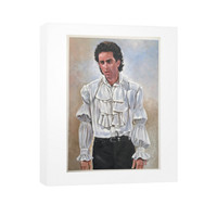 Jerry Seinfeld Puffy Vertical Canvas
