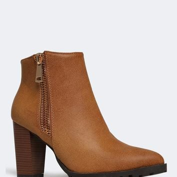 Carly-11 Ankle Booties