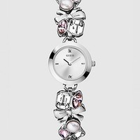 Crystallized Romance Watch - Silver at Guess