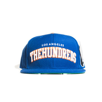 The Hundreds Player Snapback - Royal/Orange