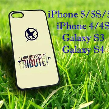 The Hunger Game Catching Fire fit for iphone 5 iphone 5S iphone 5C iphone 4 iphone 4S Samsung Galaxy S3 Samsung Galaxy S4 phone case