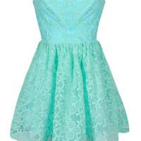 EMBROIDERED ORGANZA SWEET HEART DRESS
