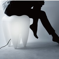 Tooth Lamp/Stool by Chaiyut Plypetch | Generate Design
