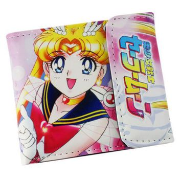 Sailor Moon Short Wallet Purse Colorful