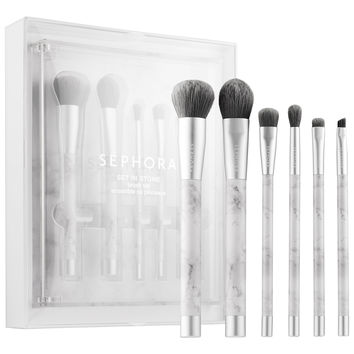 Sephora: SEPHORA COLLECTION : Set In Stone Brush Set : brush-sets-makeup-brushes-applicators-makeup