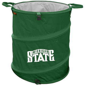 Michigan State Spartans NCAA Collapsible Trash Can
