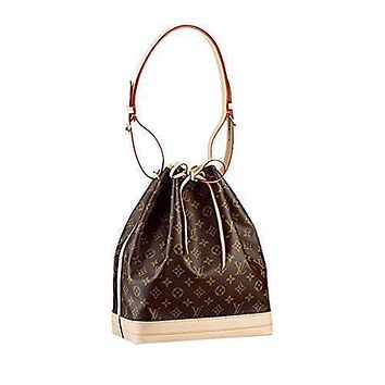 Tagre™ LV Authentic Louis Vuitton Monogram Canvas No¨¦ Shoulder Bag Strap Handbag Article: M42