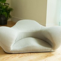 Fabric Ergonomic Meditation Seat | The Grommet