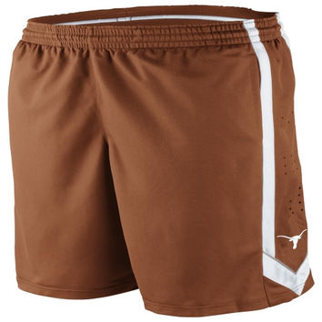 Nike Texas Longhorns Youth Burnt Orange Basketball Tourney Shorts