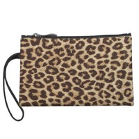 Leopard Print Mini Clutch