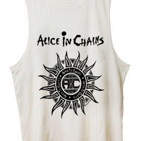 Alice In Chains Costom Tanktop