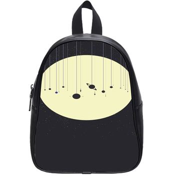 Moon Solar System School Backpack Large