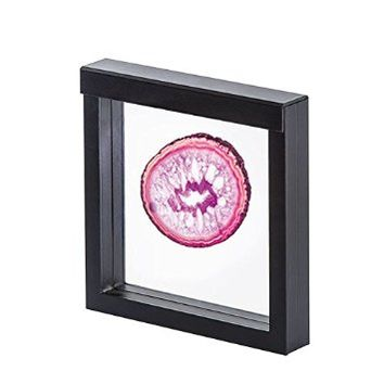 "3D NIMBUS Floating Frame, Shadow Box, Display Case, Box 4""x 4"" x 1"""