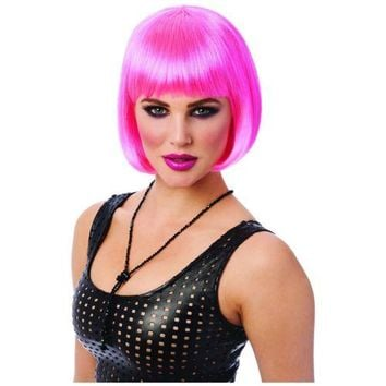 Bob Wigs Adult Roaring 20s Flapper Girl Costume Halloween Fancy Dress