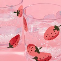Kate Spade Strawberry Acrylic Tumblers at asos.com