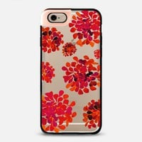red flowers METALUXE iPhone 6 case by Marianna   Casetify