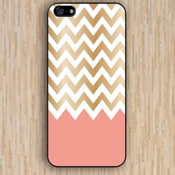 iPhone 4s case golden chevron pink chevron iphone case,ipod case,samsung galaxy case available plastic rubber case waterproof B020