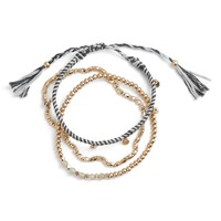 Treasure & Bond Delicate Friendship Bracelet | Nordstrom