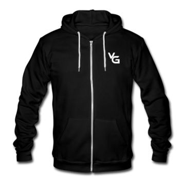 plainlogo Zip Hoodie | VanossGaming Shop