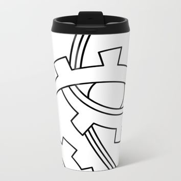 eye Metal Travel Mug by Ia Po