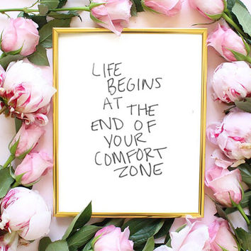 life begins inspiring decor pinterest room quote typographic print inspirational motivational tumblr room decor framed quotes teen boho love