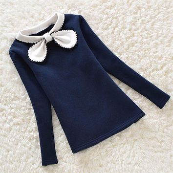 Spring Autumn Kids Girl Sweater Fashion Sweaters Children Cotton Cardigan Baby Outerwear Girls Knitwear Clothes