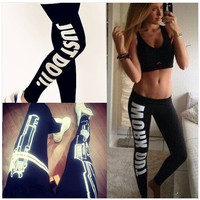 Womens Exercise Pants Capris Work Out Printed Sport Pants Fitness Workout Running Pant Trousers Breeches Women Joggers Plus Size