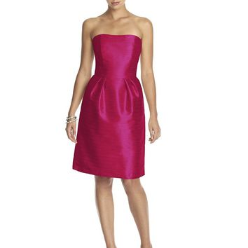 Alfred Sung - D614 Bridesmaid Dress in Sangria