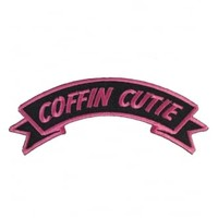 Kreepsville 666 Arch Coffin Cutie Patch | Attitude Clothing