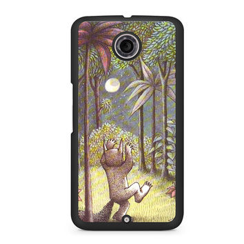 Wild Things Are Nexus 6 case