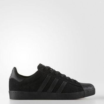 Adidas Skateboarding Superstar Vulc ADV Shoes Black / Black BY3939 MSRP