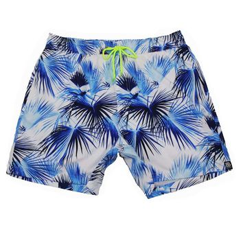 SWEETXIN Mens Printed Short Swim Quick Dry Trunks Swim Trunks Suit Fashion Casual Beach Shorts