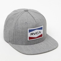 RVCA National Snapback Hat - Mens Backpack - Gray - One