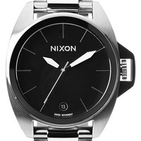 Nixon 'Anthem' Black Bracelet Watch, 43mm