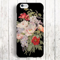 iPhone 6 Case, iPhone 6 Plus Case, iPhone 5S Case, iPhone 5 Case, iPhone 5C Case, iPhone 4S Case, iPhone 4 Case - Vintage Flowers