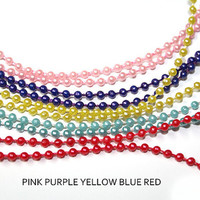 5 YARDS Ball Chain Necklaces - bulk chains