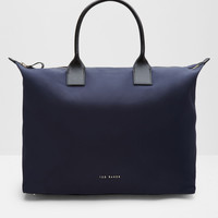 Classic large tote bag - Navy | Bags | Ted Baker UK