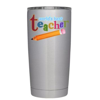 World's Best Teacher 20 oz Tumbler