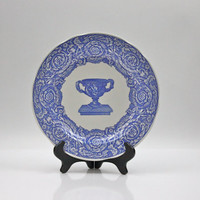 Spode Warwick Vase Plate / Blue Room Collection / Wall Decor