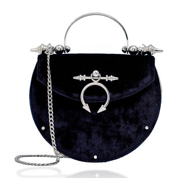 The Oak Velvet Shoulder Bag | Moda Operandi